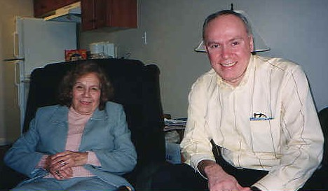 Maria Esperanza with Michael H. Brown.